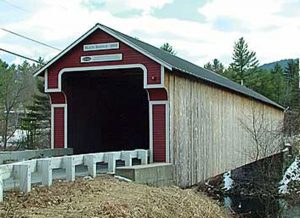 Slate Covered Bridge -new after fine
