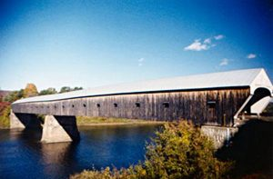 Cornish-Windsor Covered Bridge over Connecticut River